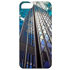 Architecture Skyscraper Apple Iphone 5 Classic Hardshell Case by Simbadda