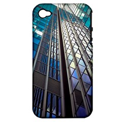 Architecture Skyscraper Apple Iphone 4/4s Hardshell Case (pc+silicone) by Simbadda