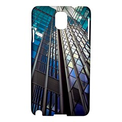 Architecture Skyscraper Samsung Galaxy Note 3 N9005 Hardshell Case by Simbadda