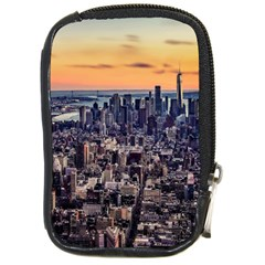 New York Skyline Architecture Nyc Compact Camera Cases by Simbadda