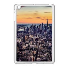 New York Skyline Architecture Nyc Apple Ipad Mini Case (white)