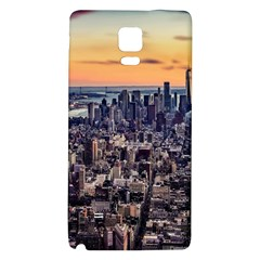 New York Skyline Architecture Nyc Galaxy Note 4 Back Case