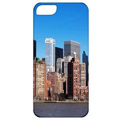 Skyscraper Architecture City Apple Iphone 5 Classic Hardshell Case by Simbadda