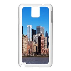 Skyscraper Architecture City Samsung Galaxy Note 3 N9005 Case (white) by Simbadda