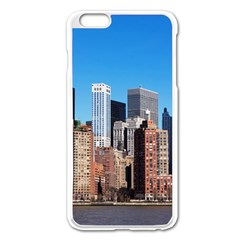 Skyscraper Architecture City Apple Iphone 6 Plus/6s Plus Enamel White Case