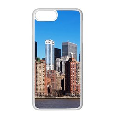 Skyscraper Architecture City Apple Iphone 8 Plus Seamless Case (white) by Simbadda