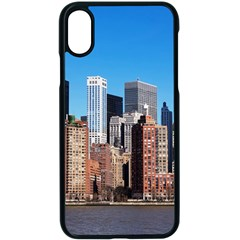 Skyscraper Architecture City Apple Iphone X Seamless Case (black) by Simbadda