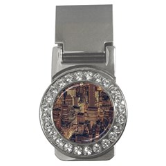 New York City Skyline Nyc Money Clips (cz)  by Simbadda