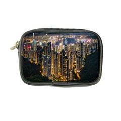 Panorama Urban Landscape Town Center Coin Purse