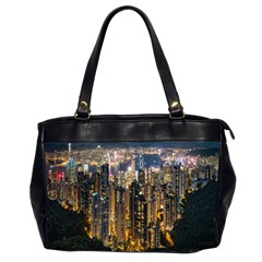 Panorama Urban Landscape Town Center Office Handbags (2 Sides)