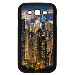 Panorama Urban Landscape Town Center Samsung Galaxy Grand Duos I9082 Case (black)