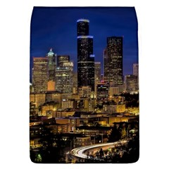 Skyline Downtown Seattle Cityscape Flap Covers (l)  by Simbadda