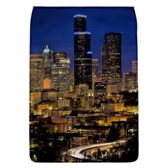 Skyline Downtown Seattle Cityscape Flap Covers (s)  by Simbadda
