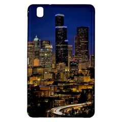 Skyline Downtown Seattle Cityscape Samsung Galaxy Tab Pro 8 4 Hardshell Case by Simbadda