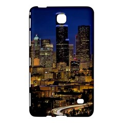Skyline Downtown Seattle Cityscape Samsung Galaxy Tab 4 (8 ) Hardshell Case
