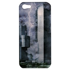 Digital Art City Cities Urban Apple Iphone 5 Hardshell Case