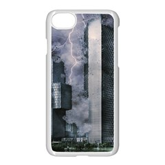 Digital Art City Cities Urban Apple Iphone 8 Seamless Case (white)