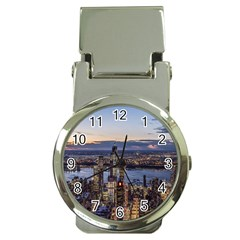 Panoramic City Water Travel Money Clip Watches