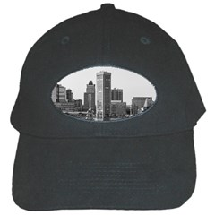 Architecture City Skyscraper Black Cap