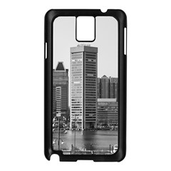 Architecture City Skyscraper Samsung Galaxy Note 3 N9005 Case (black)