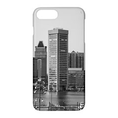 Architecture City Skyscraper Apple Iphone 7 Plus Hardshell Case by Simbadda