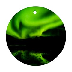 Aurora Borealis Northern Lights Sky Ornament (round)