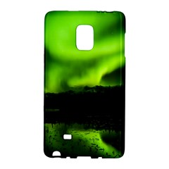 Aurora Borealis Northern Lights Sky Galaxy Note Edge