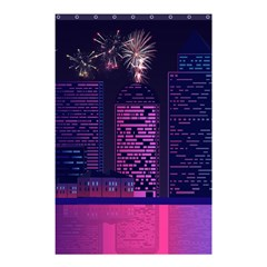 Architecture Home Skyscraper Shower Curtain 48  X 72  (small)