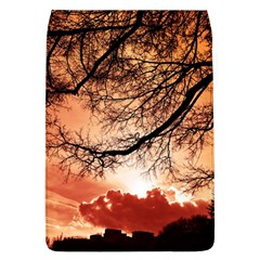 Tree Skyline Silhouette Sunset Flap Covers (l)