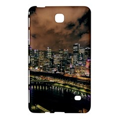 Cityscape Night Buildings Samsung Galaxy Tab 4 (8 ) Hardshell Case