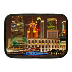 Shanghai Skyline Architecture Netbook Case (medium)