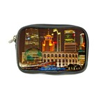 Shanghai Skyline Architecture Coin Purse Front
