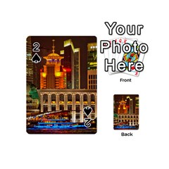Shanghai Skyline Architecture Playing Cards 54 (mini)