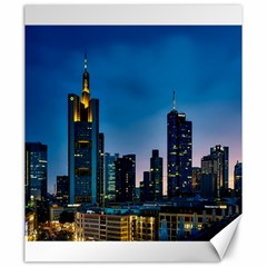 Frankfurt Germany Panorama City Canvas 20  X 24