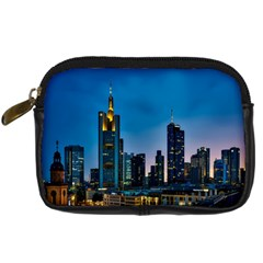 Frankfurt Germany Panorama City Digital Camera Cases by Simbadda