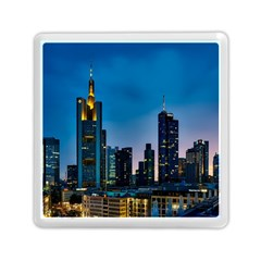 Frankfurt Germany Panorama City Memory Card Reader (square)
