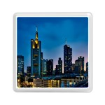 Frankfurt Germany Panorama City Memory Card Reader (Square)  Front