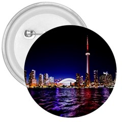 Toronto City Cn Tower Skydome 3  Buttons
