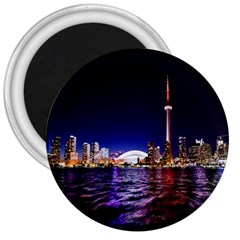 Toronto City Cn Tower Skydome 3  Magnets