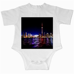 Toronto City Cn Tower Skydome Infant Creepers