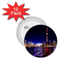 Toronto City Cn Tower Skydome 1 75  Buttons (10 Pack) by Simbadda