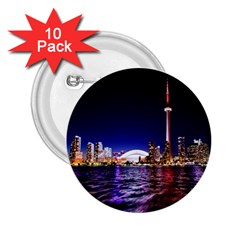 Toronto City Cn Tower Skydome 2.25  Buttons (10 pack)