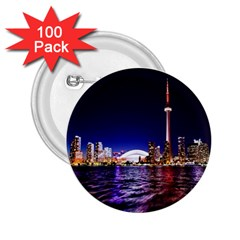 Toronto City Cn Tower Skydome 2.25  Buttons (100 pack)
