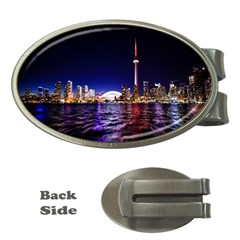 Toronto City Cn Tower Skydome Money Clips (Oval)
