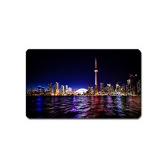 Toronto City Cn Tower Skydome Magnet (Name Card)
