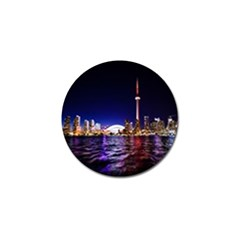 Toronto City Cn Tower Skydome Golf Ball Marker (4 pack)