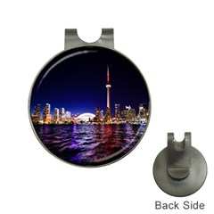 Toronto City Cn Tower Skydome Hat Clips with Golf Markers