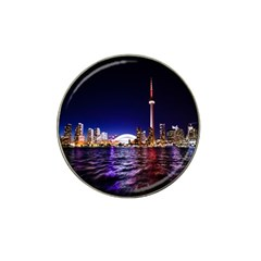 Toronto City Cn Tower Skydome Hat Clip Ball Marker