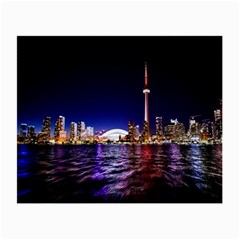 Toronto City Cn Tower Skydome Small Glasses Cloth