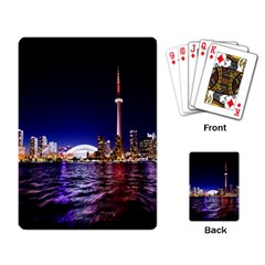 Toronto City Cn Tower Skydome Playing Card